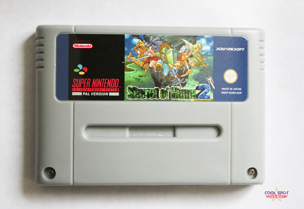 Secret of Mana 2 (English version) for Super Nintendo (SNES) (PAL)