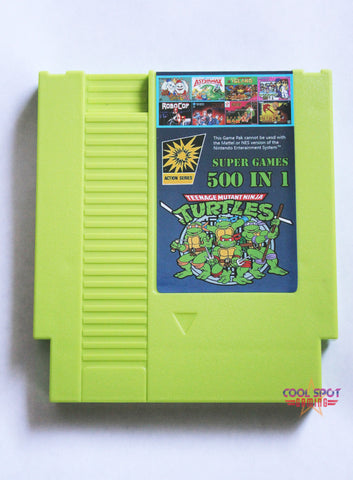 NES Multi Cartridge 'Super Games 500 in 1' (Region-free)