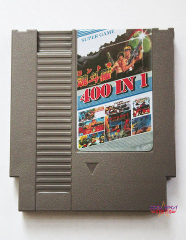NES Multi Cartridge 'Super Games 400 in 1' (Region-free)