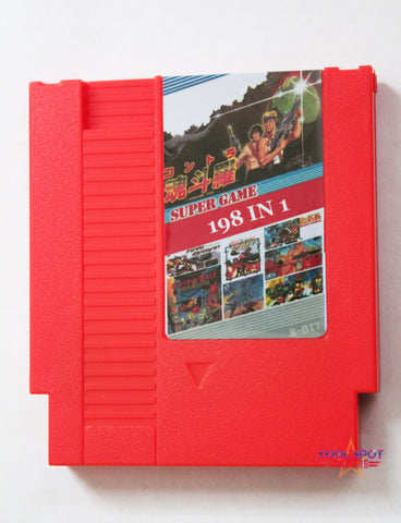 NES Multi Cartridge 'Super Games 198 in 1' (Region-free)