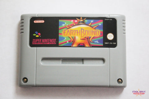 Earthbound for Super Nintendo (SNES) (PAL)