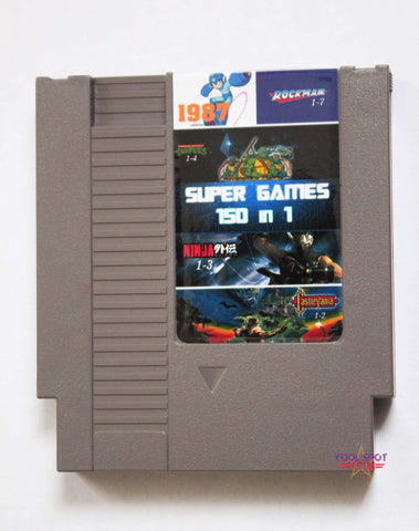 NES Multi Cartridge 'Super Games 150 in 1' (Region-free)