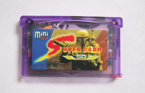 Supercard MiniSD for Gameboy Advance-Cool Spot's Gaming Emporium -Cool Spot Gaming