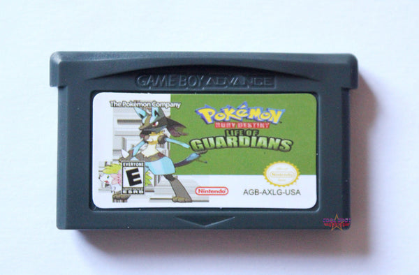 Pokemon Ruby Destiny 3: Life of Guardians for Game Boy Advance GBA-Cool Spot's Gaming Emporium-Cool Spot Gaming