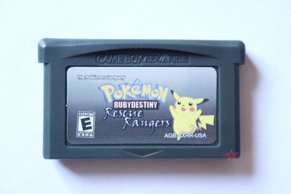 Pokemon Ruby Destiny 2: Rescue Rangers for Game Boy Advance GBA-Cool Spot's Gaming Emporium-Cool Spot Gaming