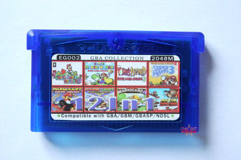 Gameboy Advance (GBA) Multi Cartridges