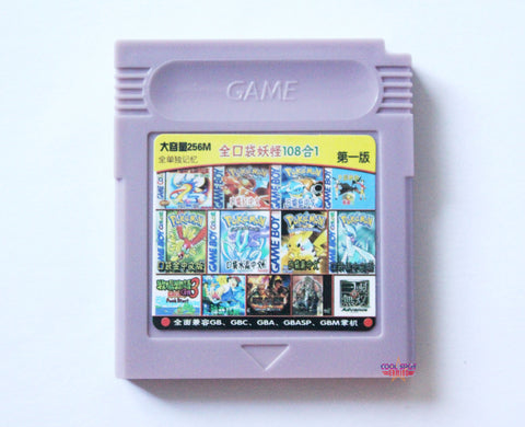 Multi-Cartridge for Game Boy / Game Boy Colour (108 Games)-Cool Spot's Gaming Emporium-Cool Spot Gaming