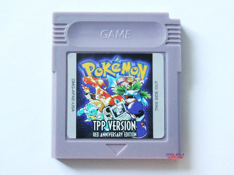 Pokemon TPP Version (Red Anniversary) for Game Boy