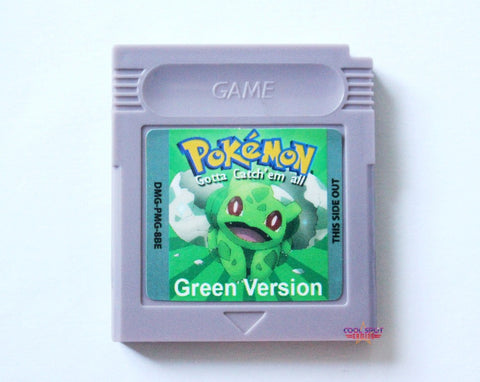 Pokemon Green for Game Boy - English Translated Version.-Cool Spot's Gaming Emporium-Cool Spot Gaming