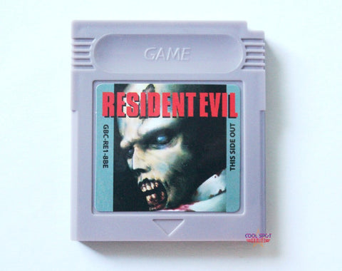 Resident Evil (Prototype/Unreleased) for Game Boy Colour-Cool Spot's Gaming Emporium-Cool Spot Gaming
