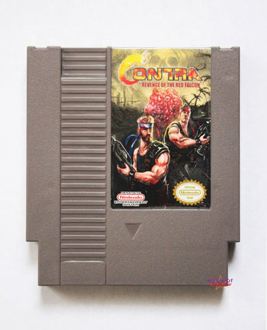Contra: Revenge of the Red Falcon - NES (Region-free)
