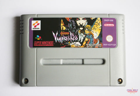 Castlevania: Vampire's Kiss for Super Nintendo (SNES) (PAL)