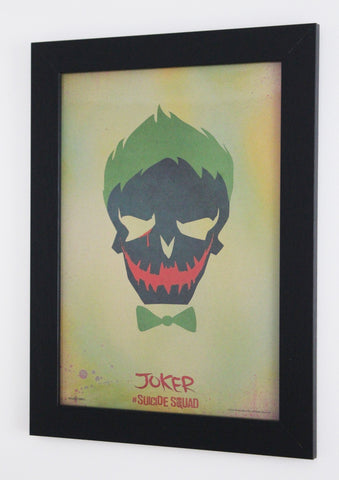 Vintage Style A3 Poster - Suicide Squad - Joker