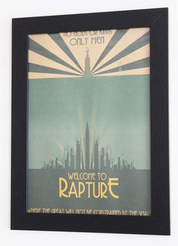 Vintage Style A3 Poster - Bioshock: Welcome to Rapture