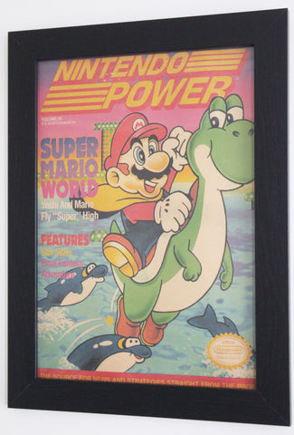 Vintage Style A3 Poster - Nintendo Power: Volume 28