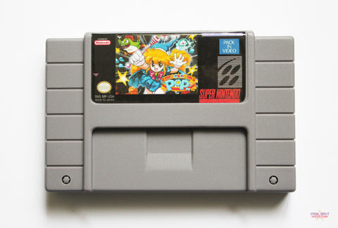Magical Pop'n - SNES (English language) USA/NTSC