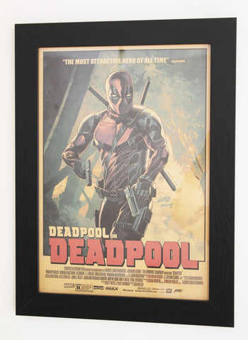 Vintage Style A3 Poster - Deadpool