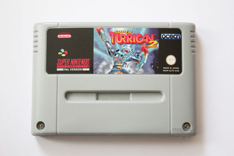 Super Turrican 2 - SNES - EUR/PAL Version (Reproduction)