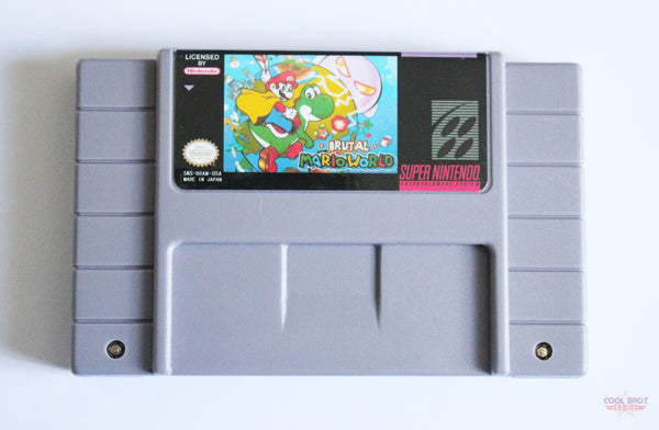Brutal Mario World for Super Nintendo (SNES) (NTSC)