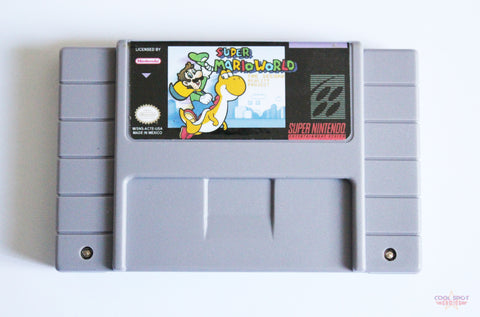 Super Mario World: The Second Reality Project for Super Nintendo (SNES) (NTSC)