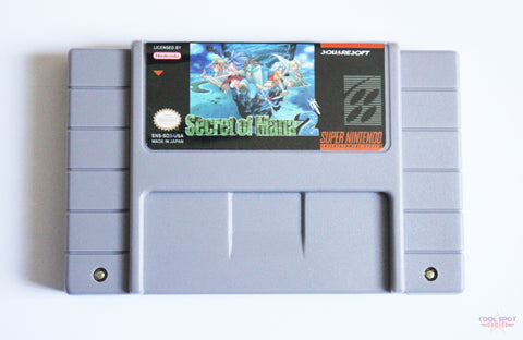 Secret of Mana 2 (English version) for Super Nintendo (SNES) (NTSC)