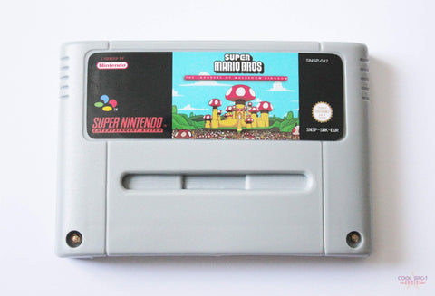 Super Mario World: The Invaders of the Mushroom Kingdom for Super Nintendo (SNES) (PAL)