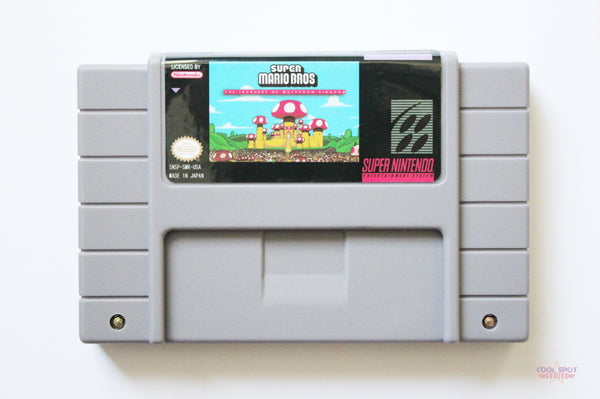 Super Mario World: The Invaders of the Mushroom Kingdom for Super Nintendo (SNES) (NTSC)