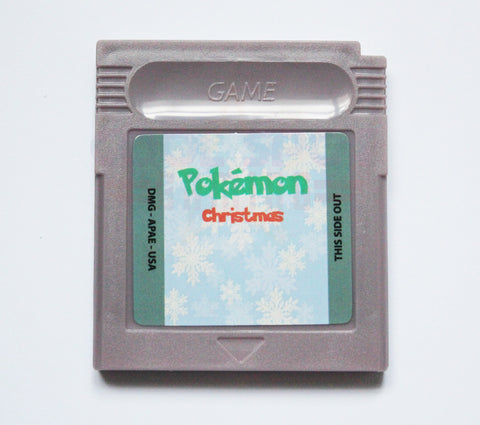 Pokemon Christmas (Johto Legacy) - Game Boy