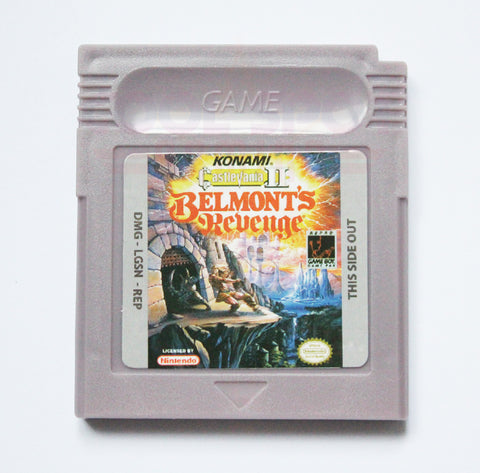 Castlevania II: Belmont's Revenge (Reproduction) - Game Boy