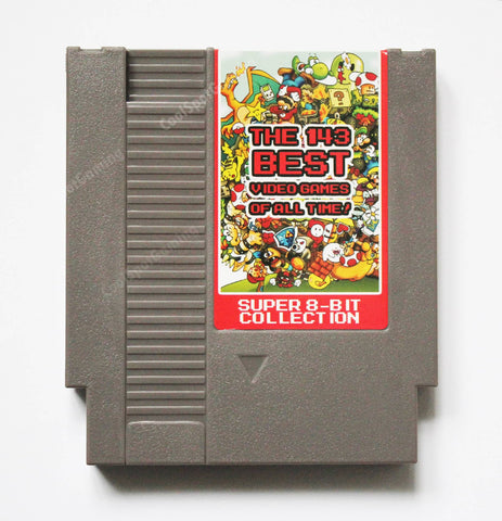 NES Multi Cartridge - 143 in 1 - ('The 143 Best Video Games of All Time')