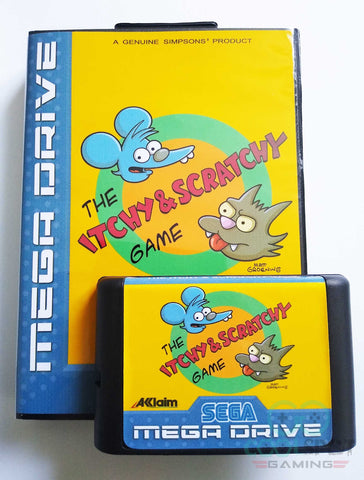 Itchy & Scratchy - Mega Drive