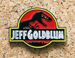 Jurassic Park - Jeff Goldblum Pin Badge