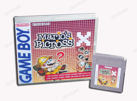 Mario's Picross X - Game Boy