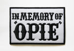 Sons of Anarchy - In Memory of Opie - Embroidered Patch