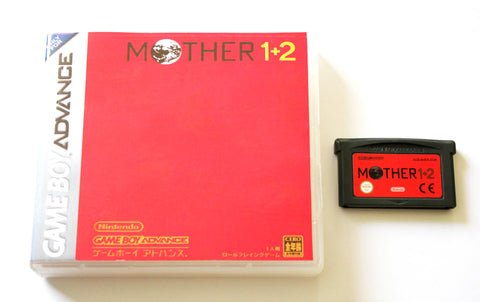 Mother 1+2 for Gameboy Advance (GBA) English version