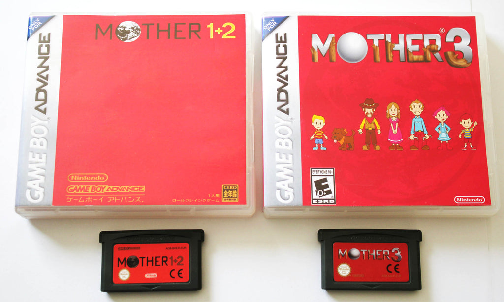 Mother 1 2 And 3 For Gameboy Advance Gba English Version