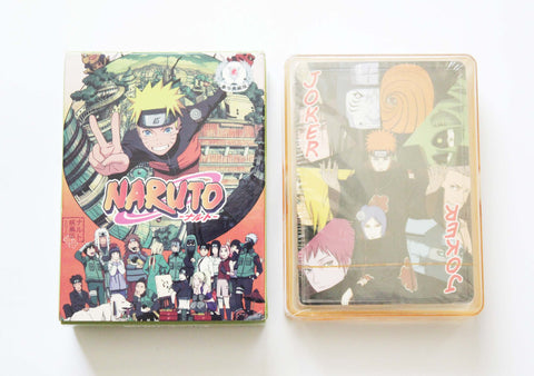 Naruto Poker Cards - Full Set of 52 Naruto Themed Playing Cards