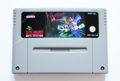 Nightmare Busters SNES - EUR/PAL