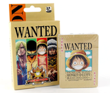 One Piece 'Wanted' Poker Card Deck - Full Set of 52 Playing Cards