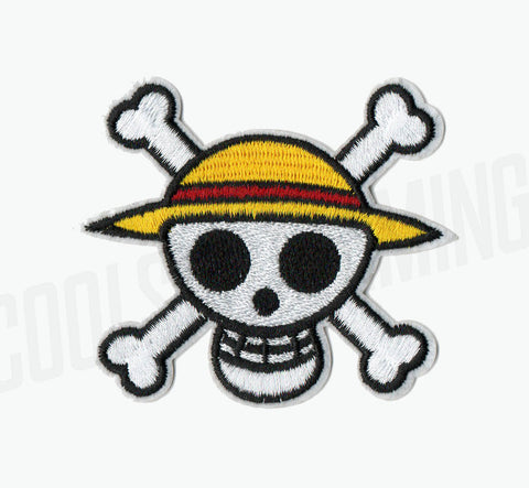 One Piece Straw Hat Pirates Skull Flag Patch