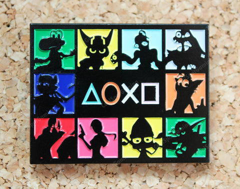 Exclusive PlayStation Icons Pin Badge