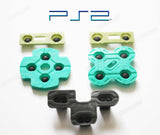 PS2 Control Pad Replacement Rubber Conductive Buttons - Full Kit