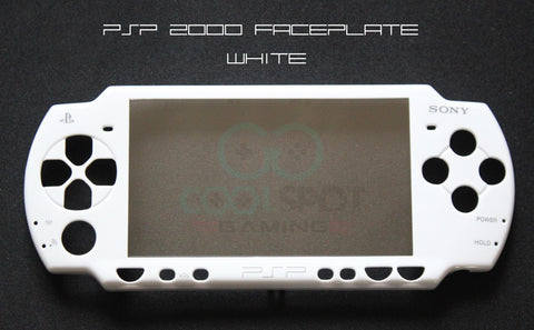 PSP 2000 Series - Replacement White Faceplate