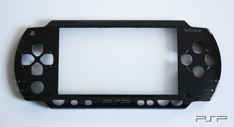 PSP 1000 Series - Replacement Black Faceplate