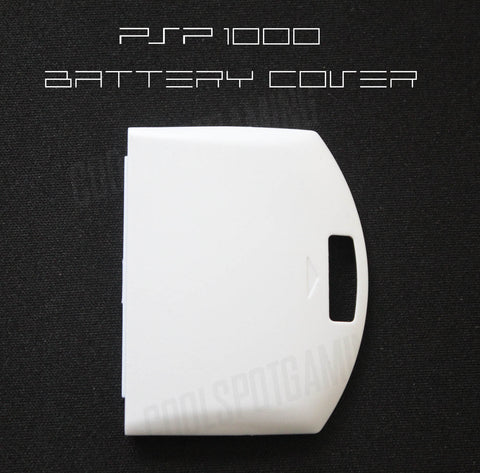 PSP 1000 Replacement Battery Cover - White
