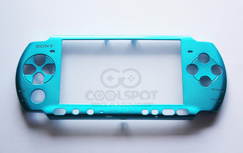 PSP 2000/3000 Series - Replacement Electric/Vibrant Blue Faceplate