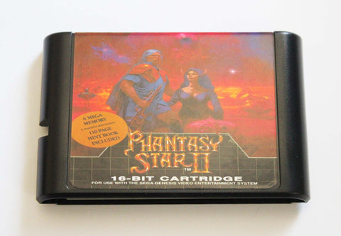 Phantasy Star II for Mega Drive (With Battery Save)