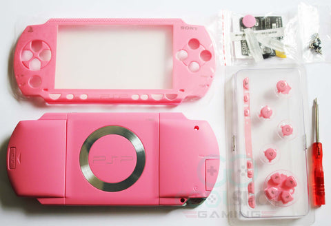 PSP 1000 Series Pink Full Housing Kit