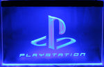 "PlayStation Logo LED Neon Light Sign 3D Engraved (Size 12"" x 8"")"
