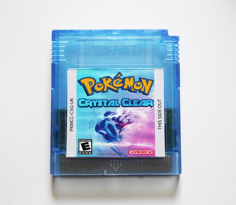 Pokemon Crystal Clear - Game Boy Colour